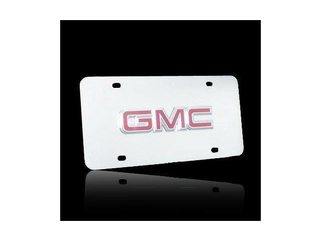 Auto Gold Gmccc Gmc Logo Chr/Chr Plate