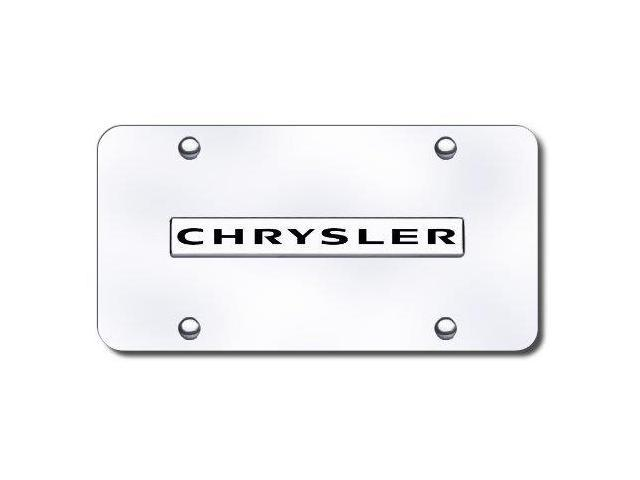 Au-Tomotive Gold Chrncc 'Chrysler' License Plate