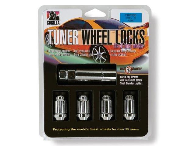 Gorilla Automotive 21681Sd Small Diameter Wheel Locks (1/2