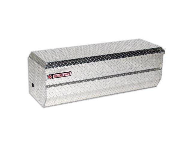 Truck Box Chest, Silver ,Weather Guard, 674-0-01