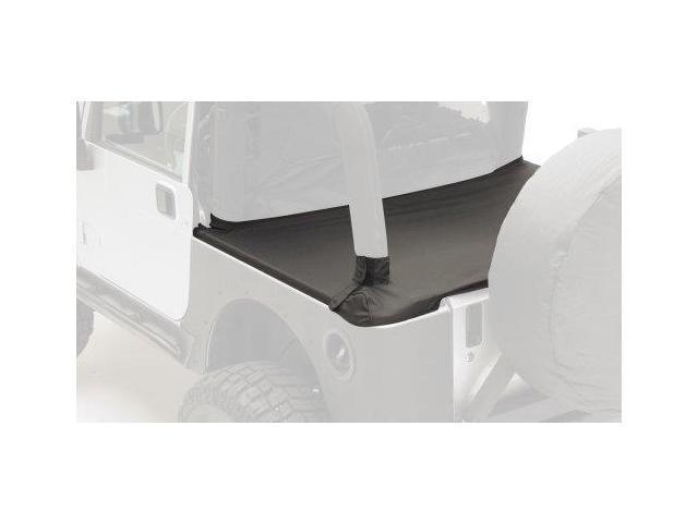 Smittybilt 701015 Denim Black Tonneau Cover With Factory Soft Top