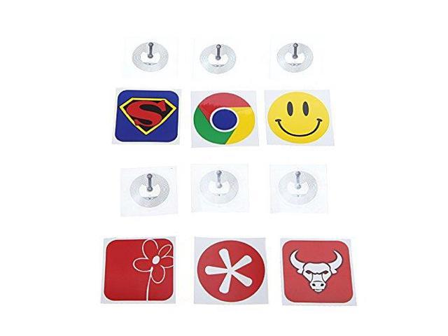 THZY Smart NFC Tags Stickers for Samsung Galaxy S5 S4 Note III /Nokia Lumia 920/Sony Xperia/Nexus 5(6pcs)