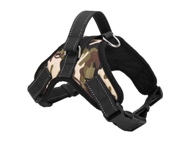 Service Dog Harness Vest Service Dog Harness Vest Cool Comfort Oxford cloth for dogs Camouflage L
