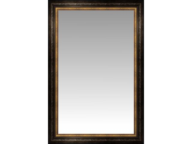 Black and gold bordeaux large wall mirror portrait size for Large portrait mirror