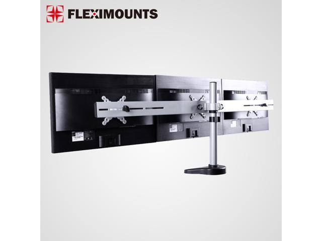 FLEXIMOUNTS M15 Triple LCD Monitor Stand Desk Mount for 1027