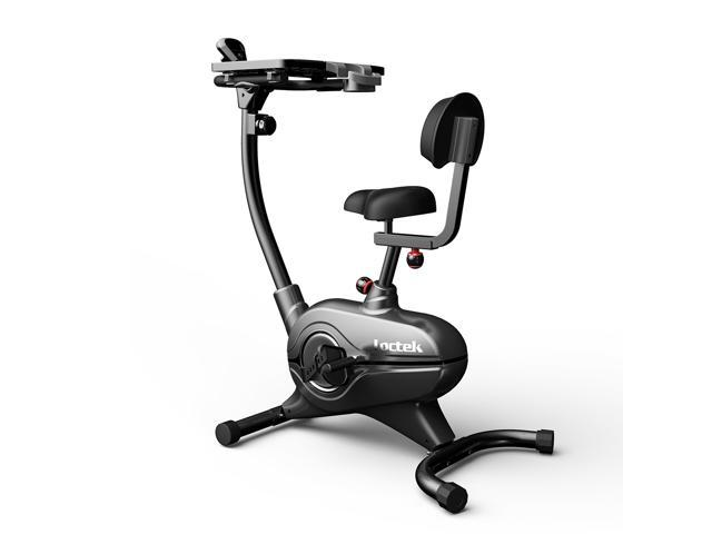 Loctek Stationary Bike Magnetic Desk Exercise Bike Indoor Cycling For Home/ Office Use