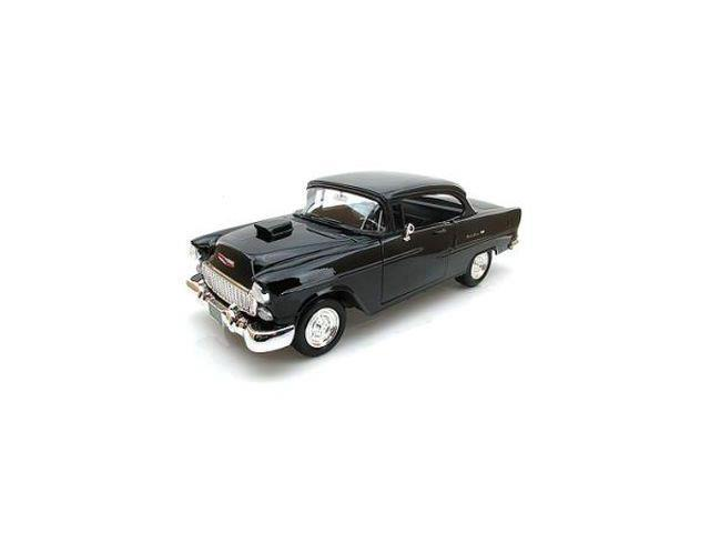 1955 Chevy Bel Air Coupe With Hood Scoop 1:18 Scale Die Cast Car