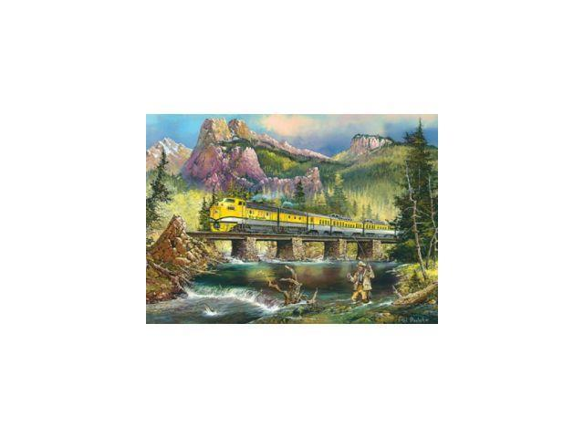Railways Scenic Express 1000 Piece Puzzle by Masterpieces Puzzle Co.