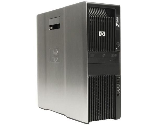 HP Z600 Workstation 2x X5650 Six Core 2.66Ghz 48GB 500GB 2TB Q4000 Win 10 Pre-Install