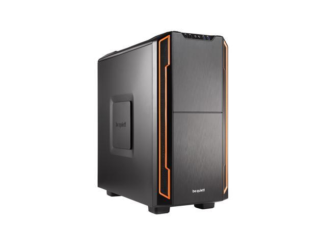 be quiet! SILENT BASE 600 ATX Mid Tower Computer Case - Orange