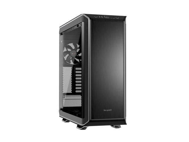 be quiet! DARK BASE PRO 900 ATX Full Tower Computer Chassis - Black/Silver