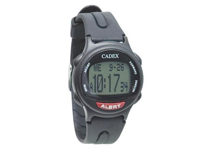 The e pill cadex 12 alarm medication reminder watch black for Cadex watches