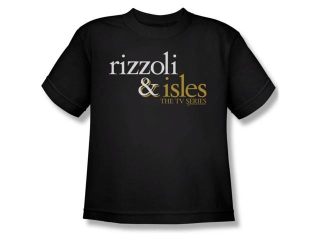rizzoli amp isles boys logo youth tshirt youth medium