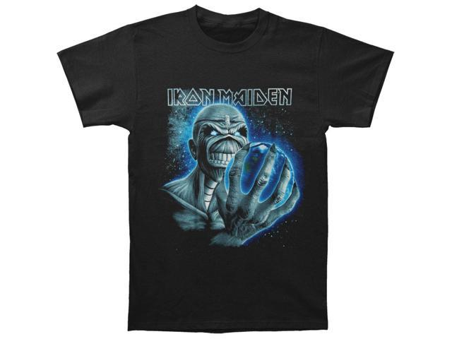 Iron Maiden Men's A Different World T-shirt Small Black