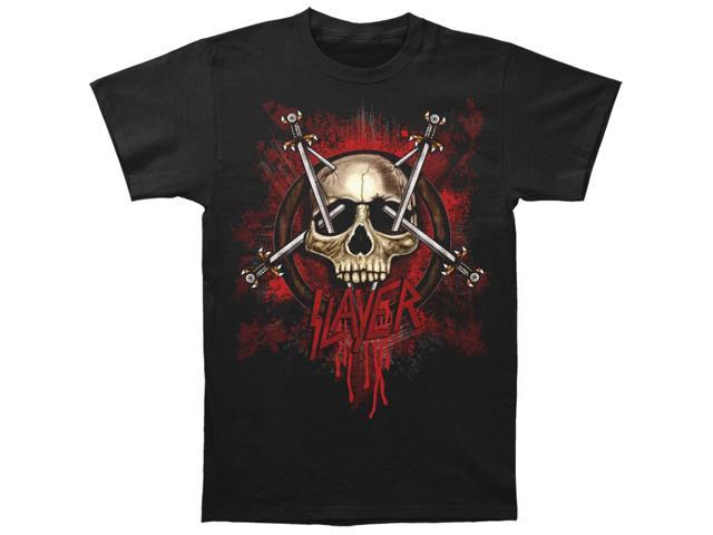 Slayer Men's Slayerswords T-shirt Medium Black
