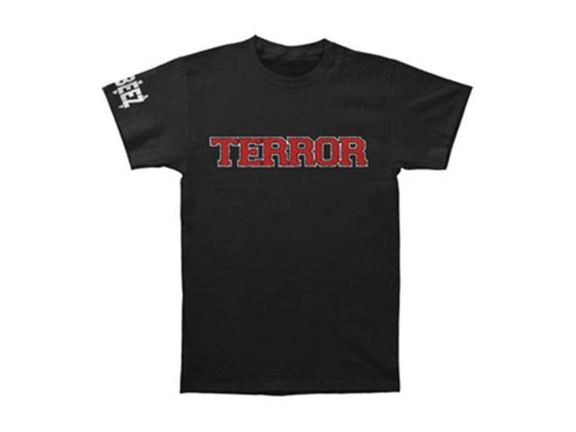 Terror Men's The Die Hard Remain T-shirt X-Large Black