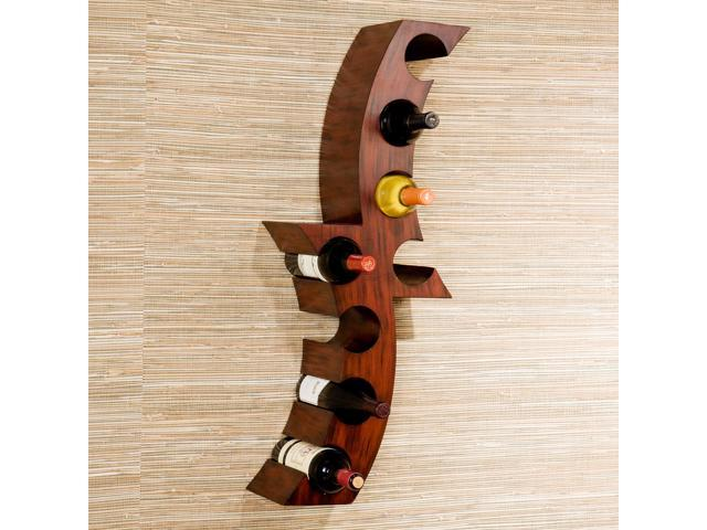 How To Buy Wall Mounted Wine Rack : How To Buy Wall Mounted Wine Rack : Siena Wall Mount Wine Rack ...