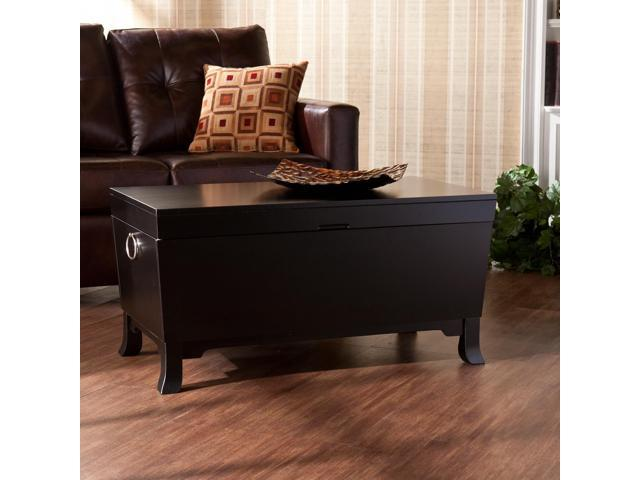 Connor Cocktail Table Trunk Black