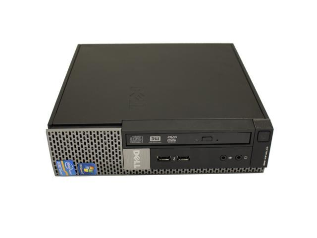 Dell OptiPlex 990  USFF Desktop Computer Intel Quad-Core i5 CPU 4GB DDR3 RAM 500GB HD DVDRW WiFi  Windows 10 Professional 64-Bit