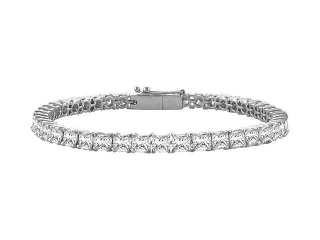 Tennis Bracelet Four Carat Diamonds Complete Diamond Tennis Bracelet