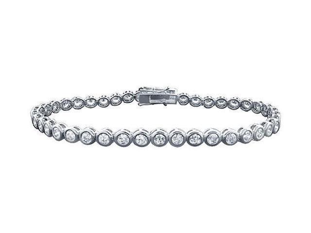 Tennis Bracelet 4 Carat Diamonds Complete Diamond Tennis Bracelet