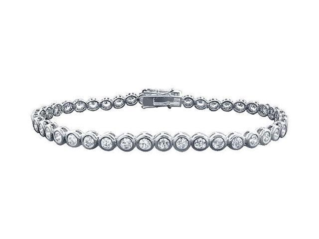 Tennis Bracelet Five Carat Diamonds Complete Diamond Tennis Bracelet