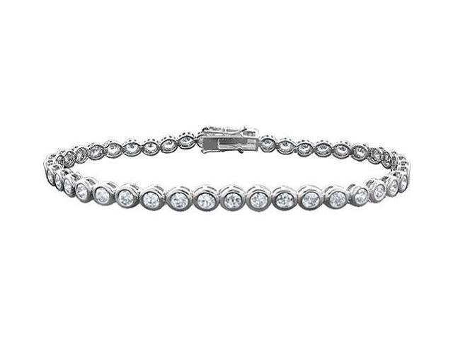 Tennis Bracelet Two Carat Diamonds Complete Diamond Tennis Bracelet