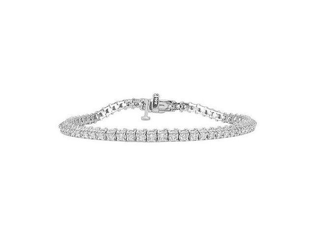 Diamond Bracelet  14K White Gold - 2.00 CT Diamonds