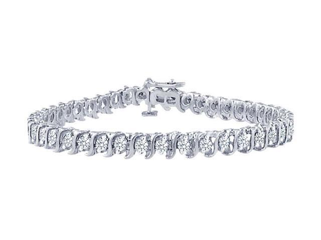 Tennis Bracelet Three Carat Diamonds Complete Diamond S Tennis Bracelet