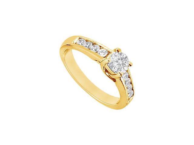Diamond Engagement Ring  14K Yellow Gold - 1.00 CT TDW