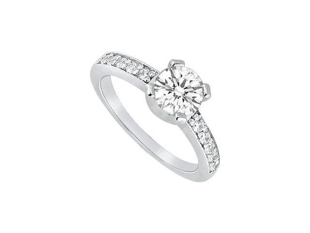 Diamond Engagement Ring  Platinum - 0.66 CT Diamonds