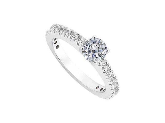 Diamond Ring in 14K White Gold 1.00.ct.tw