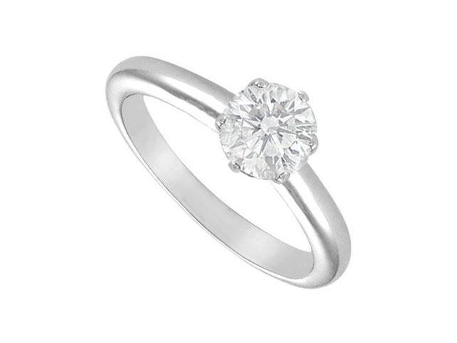 Diamond Solitaire Ring  14K White Gold - 1.25 CT Diamond