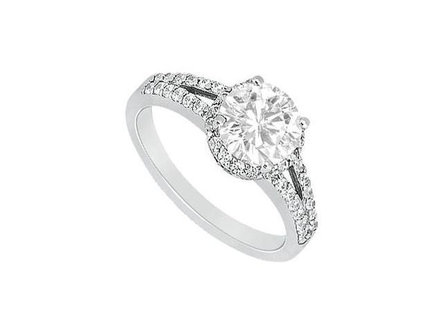 Diamond Engagement Ring  Platinum - 1.00 CT Diamonds