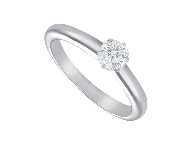 Diamond Solitaire Ring  Platinum  0.25 CT Diamond