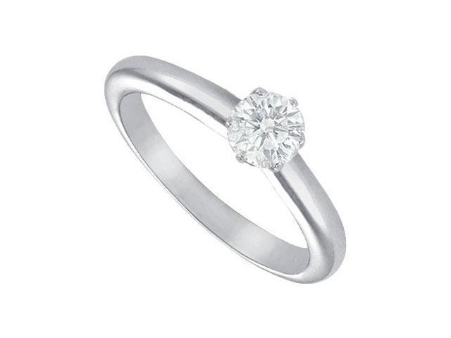 Diamond Solitaire Ring  Platinum  0.33 CT Diamond