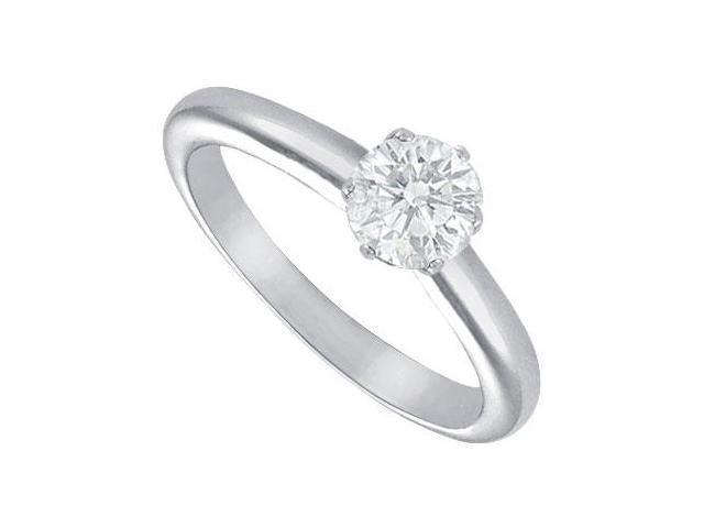Diamond Solitaire Ring  Platinum  0.75 CT Diamond