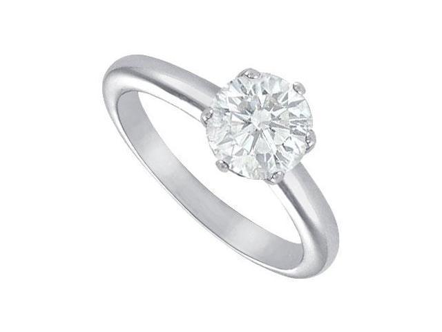 Diamond Solitaire Ring  Platinum  2.00 CT Diamond