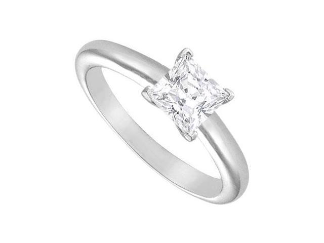 Diamond Solitaire Ring  14K White Gold  1.25 CT Diamond