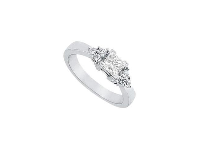 Diamond Engagement Ring  Platinum - 0.66 CT Diamonds