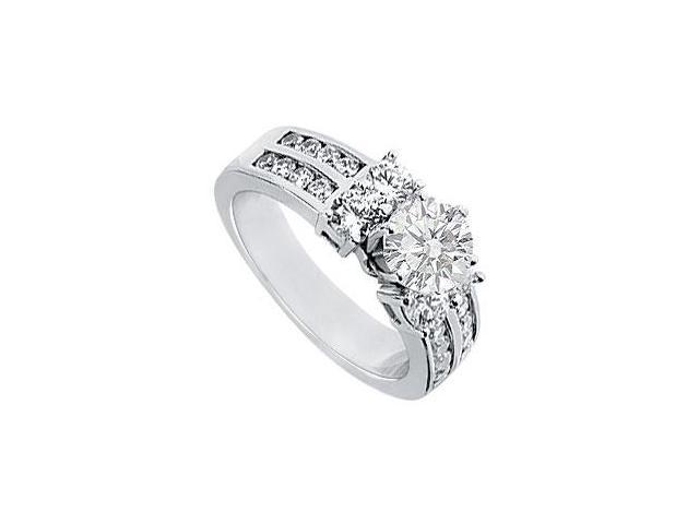 Diamond Engagement Ring  Platinum - 2.00 CT Diamonds