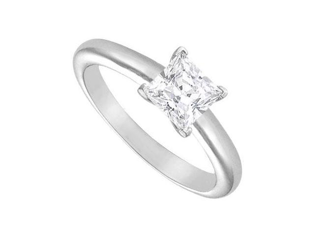 Diamond Solitaire Ring  18K White Gold  1.25 CT Diamond