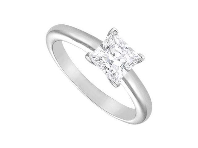 Diamond Solitaire Ring  18K White Gold  1.50 CT Diamond