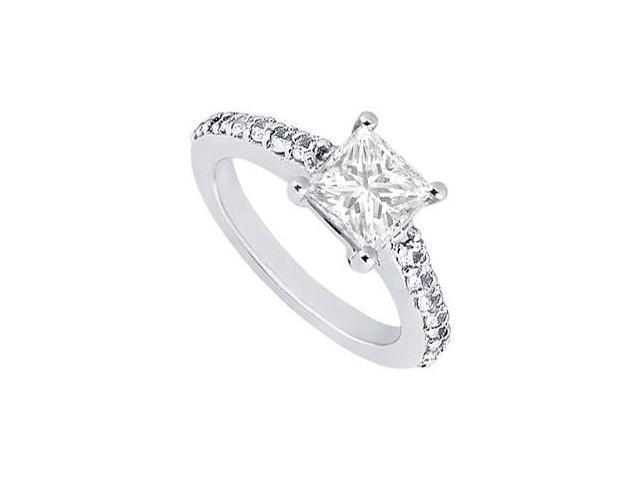 Diamond Engagement Ring  Platinum - 1.00 CT Diamonds