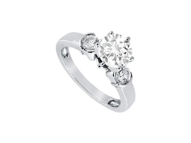 Diamond Engagement Ring  Platinum - 0.50 CT Diamonds