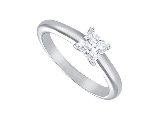 Diamond Solitaire Ring  Platinum  0.50 CT Diamond