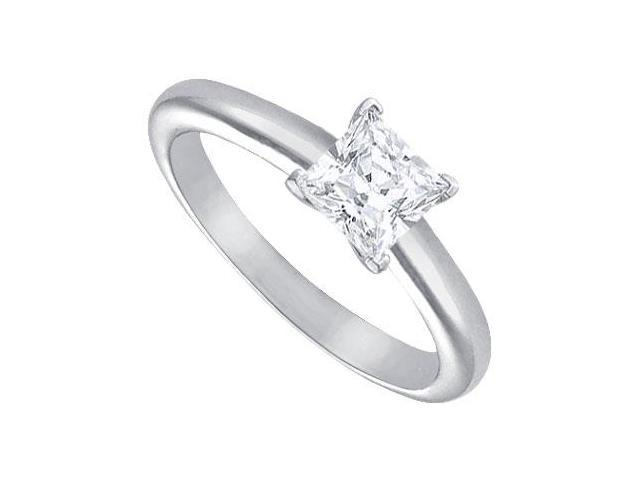 Diamond Solitaire Ring  Platinum  1.00 CT Diamond