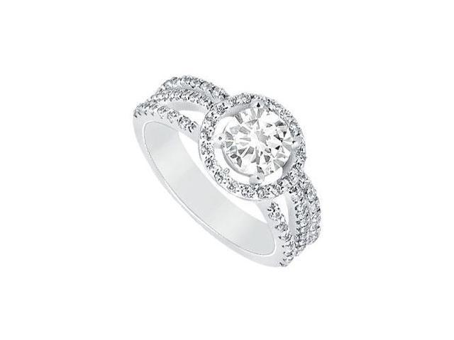 Diamond Engagement Ring  Platinum - 1.25 CT Diamonds