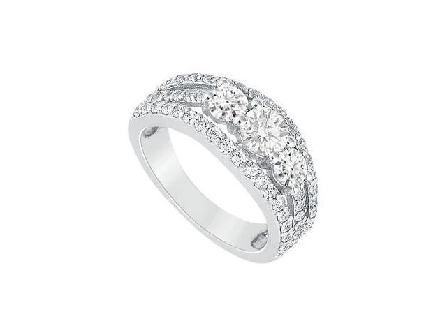 Diamond Engagement Ring  Platinum - 2.25 CT Diamonds