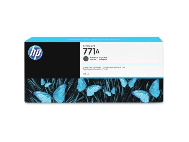 HP 771 (CE037A) Matte Black Original Ink Cartridge